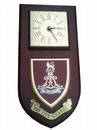 The Life Guards Regimental Wall Plaque Clock